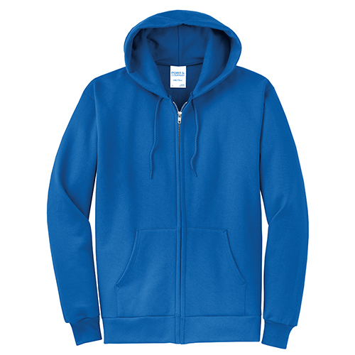 Port and Company Classic Full Zip Hooded Sweatshirt