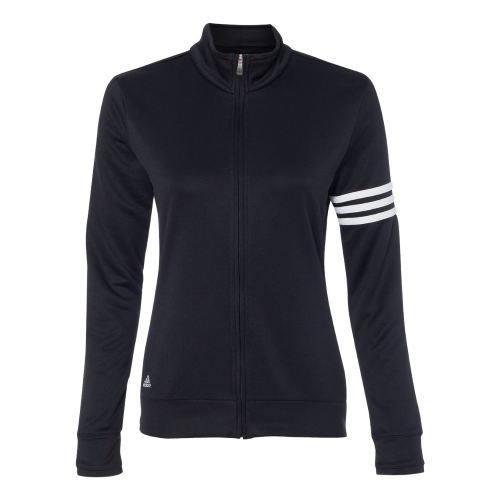 Adidas Golf Ladies' Climalite 3-Stripes Full Zip Jacket