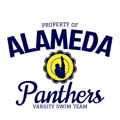 Varsity Swim Team - Property Of