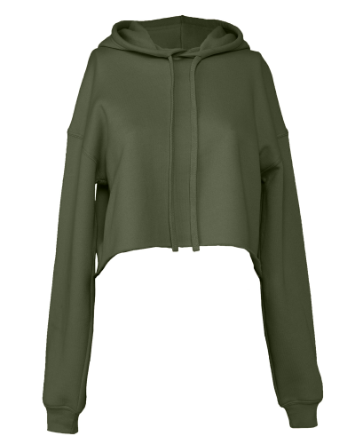 Bella Canvas Ladies' Cropped Fleece Hoodie