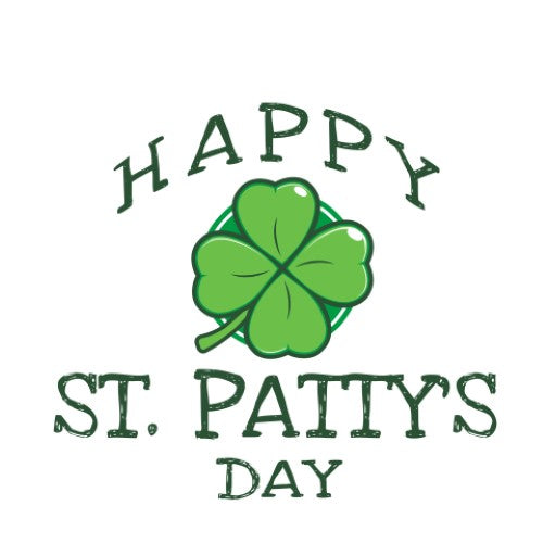 Happy St. Patty's Day - 4 Leaf Clover