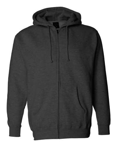 Independent Trading Co. Mens Heavyweight Zip Hood
