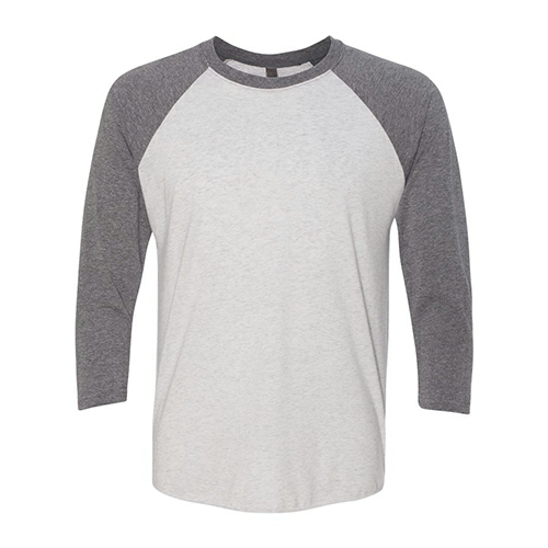 Next Level Unisex Tri-Blend Three-Quarter Sleeve Raglan