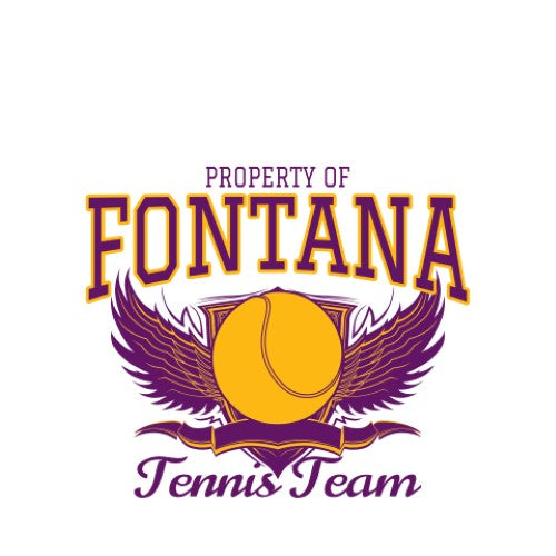 Tennis Team - Property Of