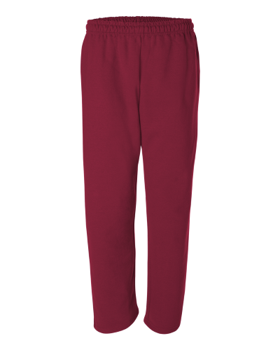 Gildan Open Bottom Sweatpants w. Pockets