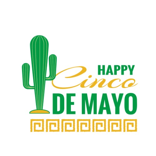 Happy Cinco de Mayo - Saguaro Cactus