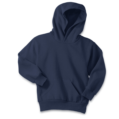 Port and Company Youth Pullover Hooded Sweatshirt