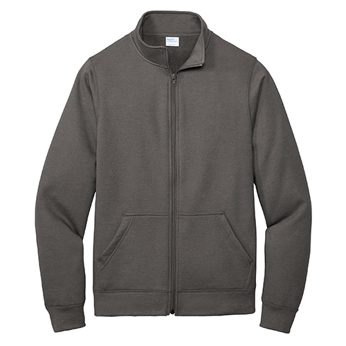 Port and Company Core Fleece Cadet Full-Zip Sweatshirt
