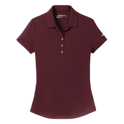 Nike Golf Ladies DriFit Smooth Performance Modern Fit Polo