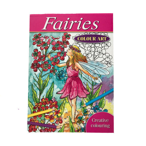 Fairies Colour Art