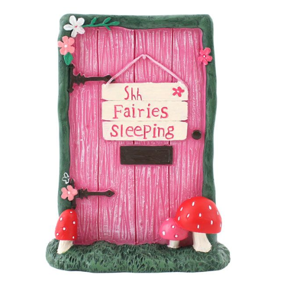 Fairy Door 'Shh Fairies Sleeping'