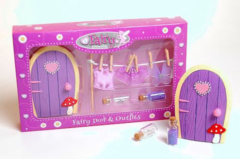 Fairy Door And Washing Line Set
