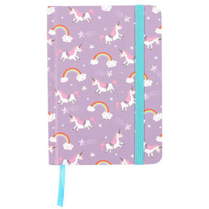 Unicorn & Rainbow A6 Notebook