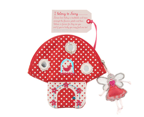Fairy Toadstool Purse