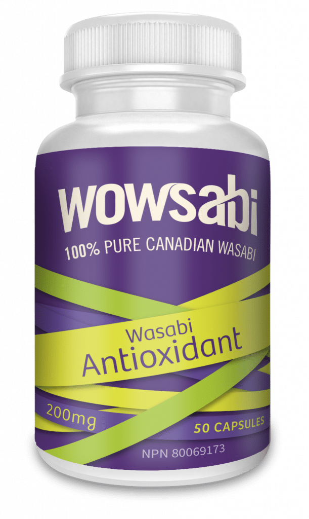 6 of 200 mg Bottle Wasabi Capsules - 50 Capsules each