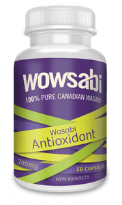 Single 200 mg Bottle Wasabi Capsules - 50 Capsules