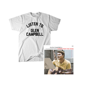 Listen Tee + Glen Sings For The King Digital Download