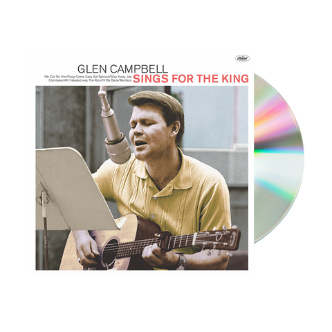 Glen Sings For The King CD