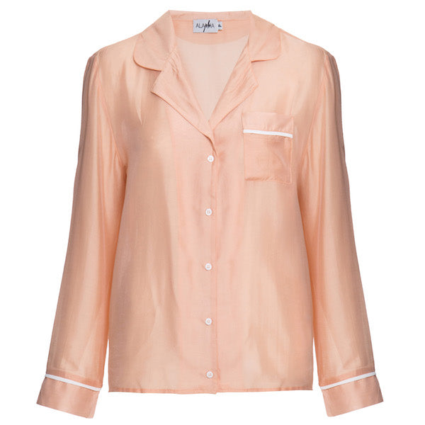 Camisa Dolce Rosa Nude