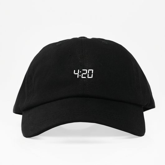 4:20 Dad Hat - Negra