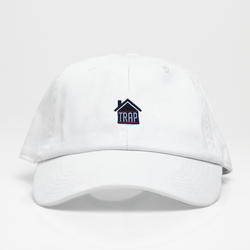 Trap House Dad Hat - Blanca