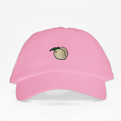 PEACH Dad Hat - Rosada