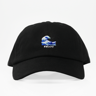 The Wave Emoji Dad Hat - Negra