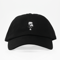 Palm Vibes Dad Hat - Negra