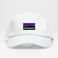 Photographer Dad Hat - Negra