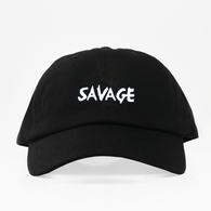 Savage Dad Hat - Negra