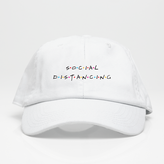 Social Distancing Dad Hat - Blanca