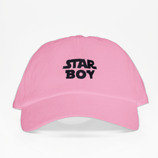 STAR BOY Dad Hat - Rosada