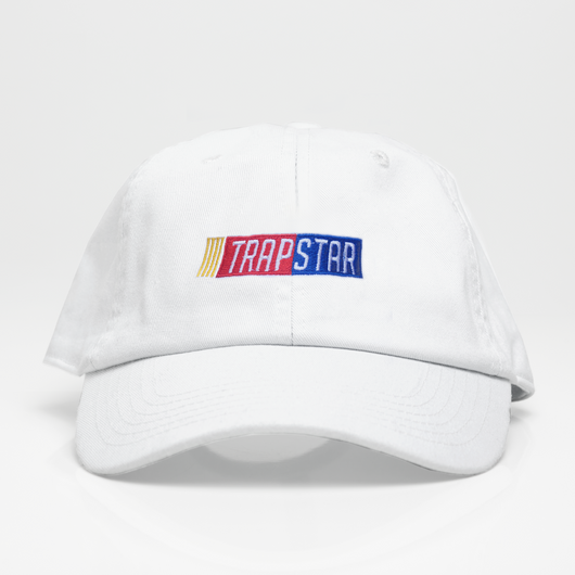 TRAP STAR Dad Hat - Blanca
