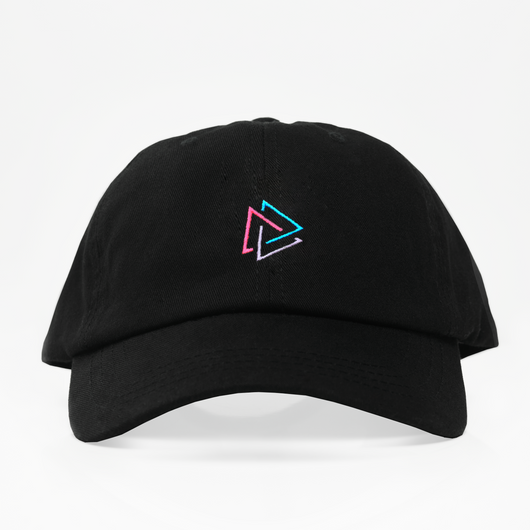 Multi Triangle Dad Hat - Negra