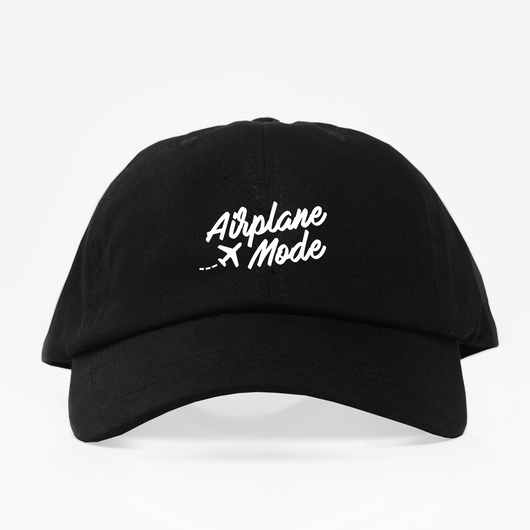 Airplane Mode Dad Hat - Negra