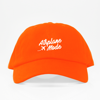 Airplane Mode Dad Hat - Anaranjada