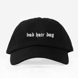 Bad Hair Day Dad Hat - Negra