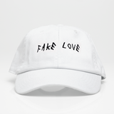 Fake Love Dad Hat - Blanca