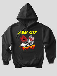 SKY APPAREL Palm City Hoodie - Negro