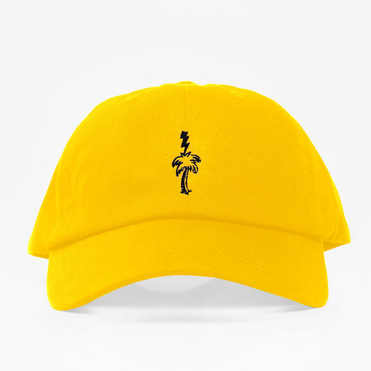 Thunder Palm Dad Hat - Amarilla