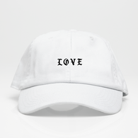 Love Dad Hat - Blanca