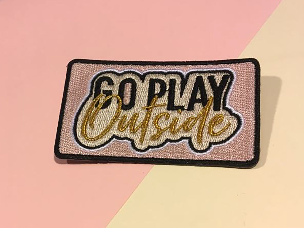 Go Play Outside Patch