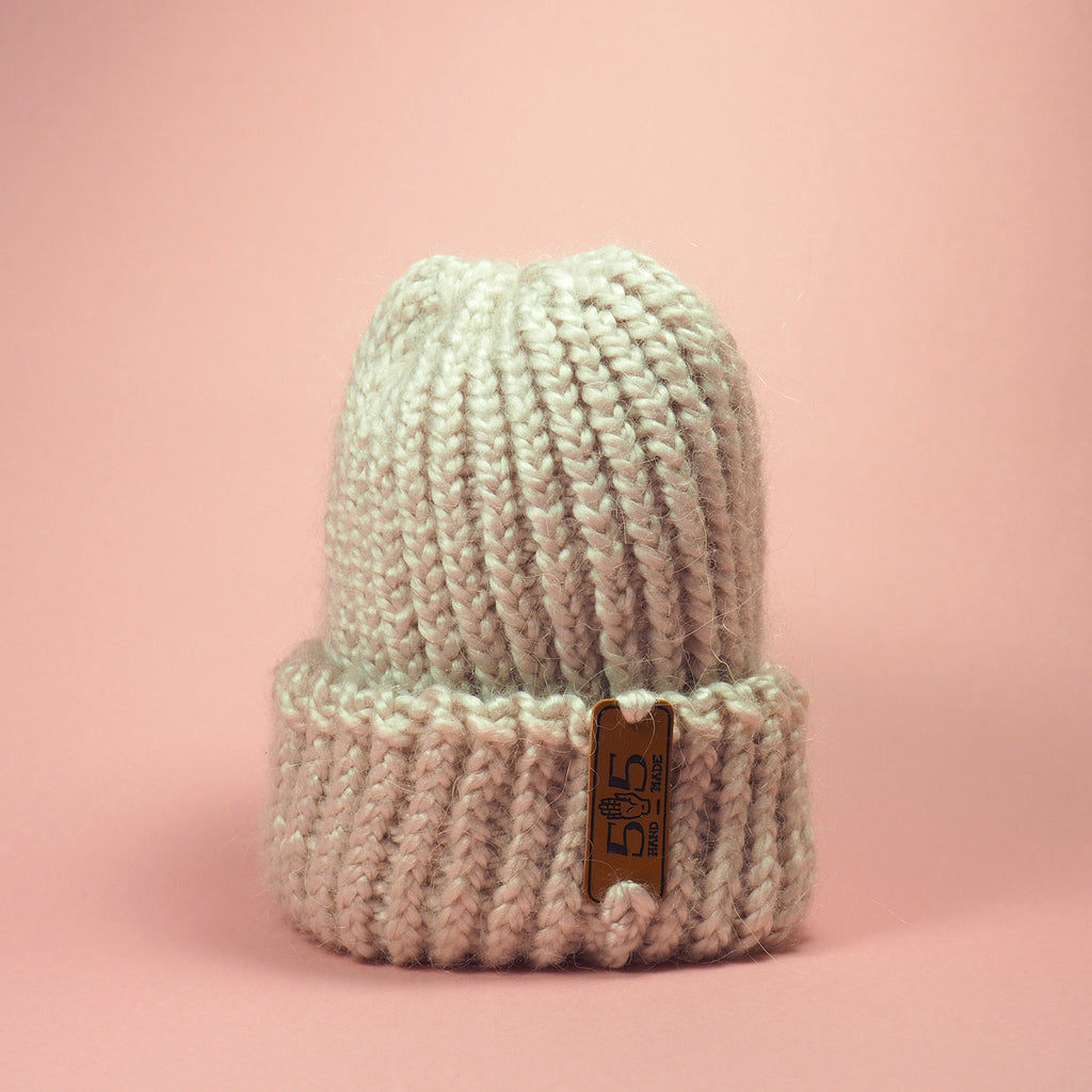 wool_knit_handmade_pink_baby_hat