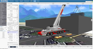ACrane USA Crane 3D Lift Planning Software