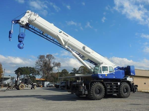 Why Rent a Tadano All-Terrain Crane
