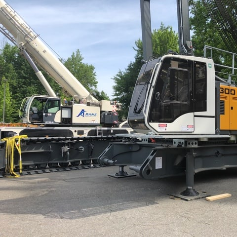 Crane Rental Lift in Philadelphia A Crane USA