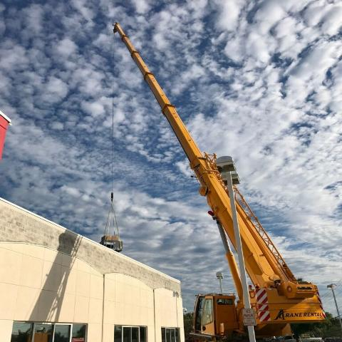 Affordable Crane Rental Close Up A Crane USA