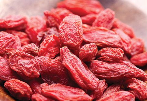 "Goji berries are high in Vitamin C, dubbed as the ""Holy Grail"" of skincare"