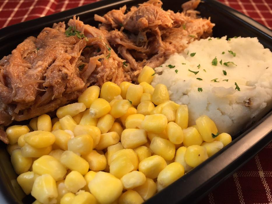BBQ Pulled Pork Meal