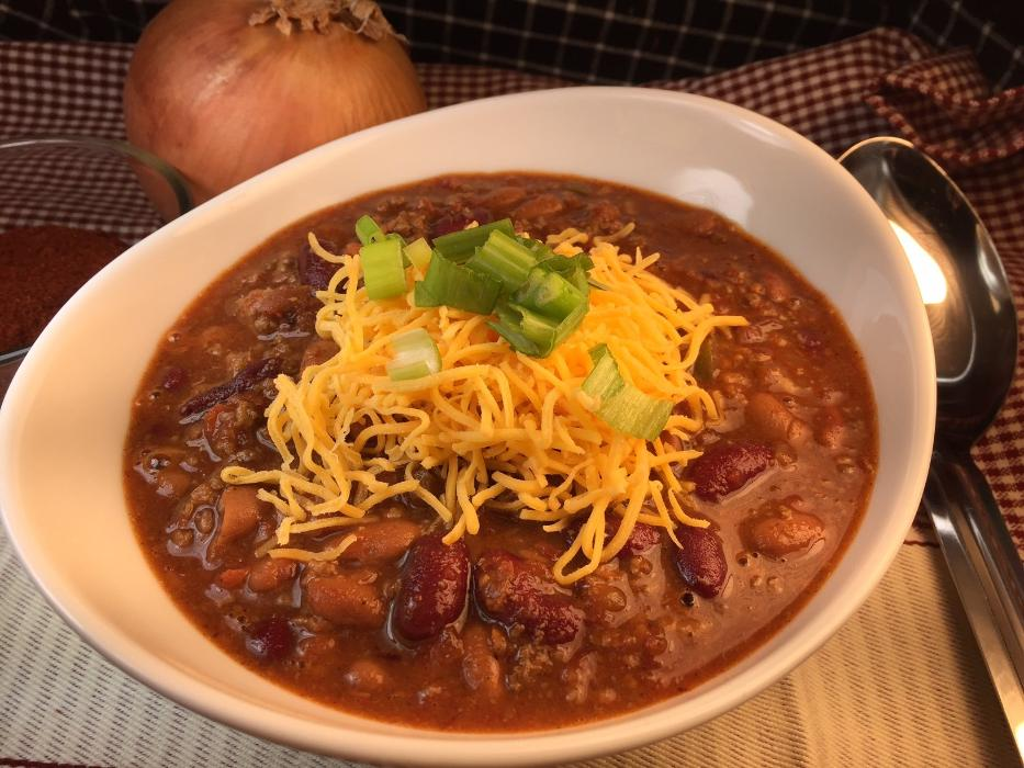 Soup-Beef & Bean Chili